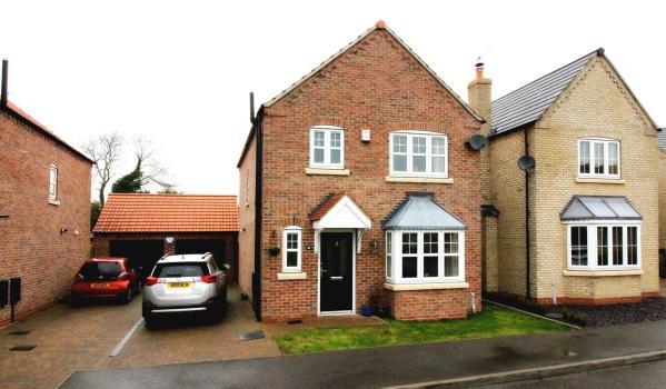 Modern family home in Nafferton