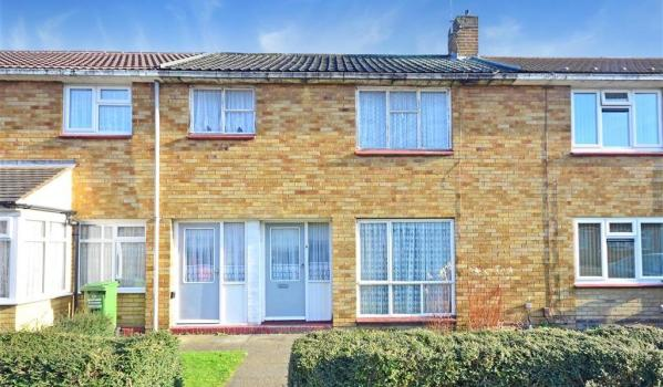 Mid-century terraced home in Basildon