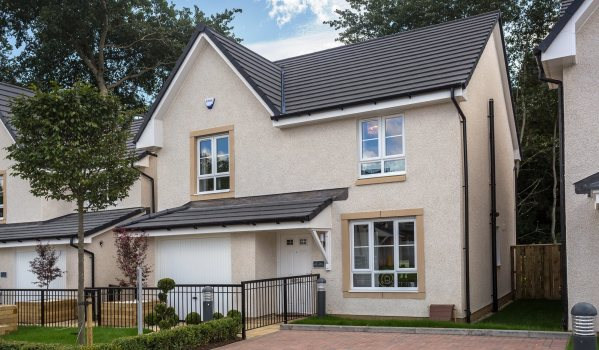 New-build home in Wishaw