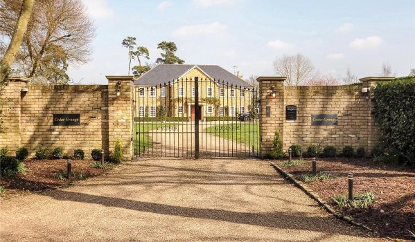 Gated mansion near Denham