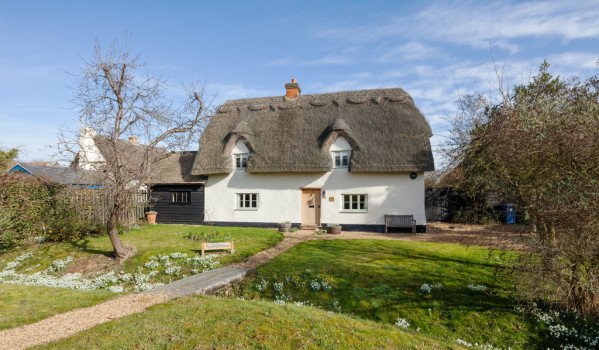 Thatched cottage in Shepreth