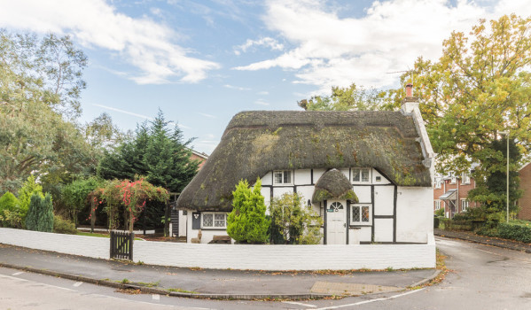 Thatched cottage in Ringwood