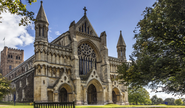Cathedral In St ALbans