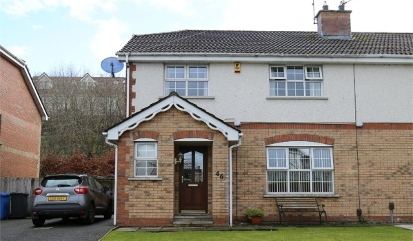 Semi-detached house in Londonderry
