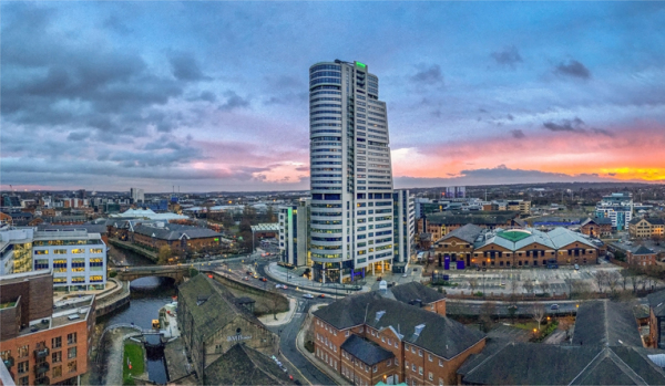 Leeds at Sunset