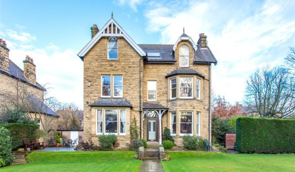 Victorian house in Leeds
