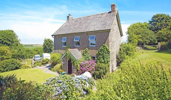 Stone house for sale in Cornwall.