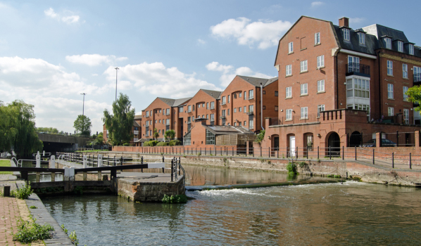 County Lock, Reading, Berkshire
