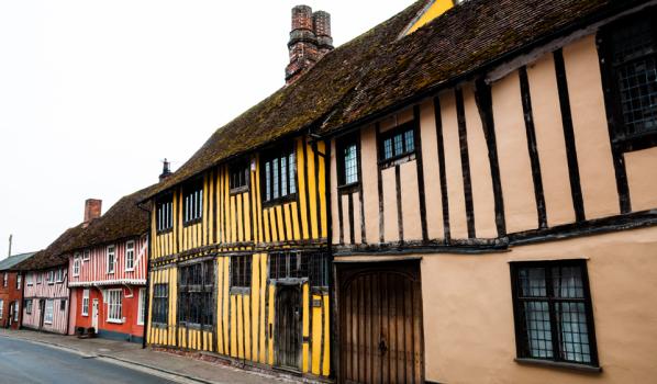 Period buildings in Suffolk