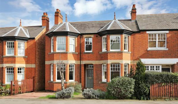 Victorian house in Melton Mowbray