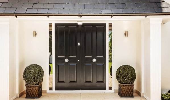 Smart front door.