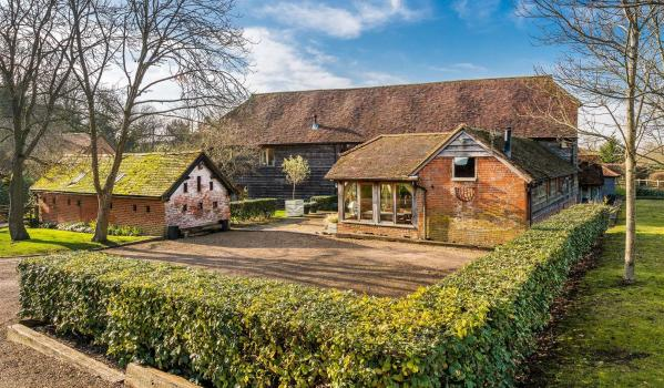 Luxury barn conversion in Surrey