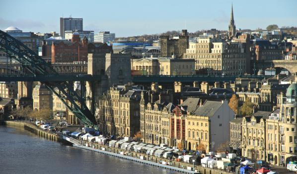 Newcastle Quayside & Market