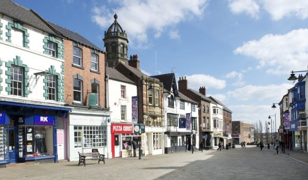 Pontefract town centre
