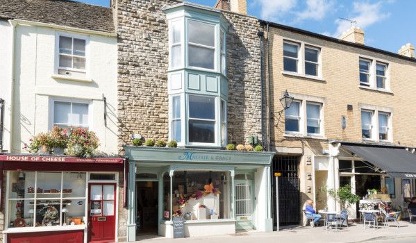 Retail premises and home in Tetbury