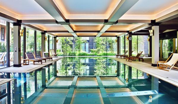 Luxury apartments with swimming pool
