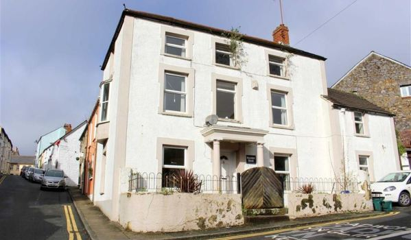 Run-down house in Haverfordwest