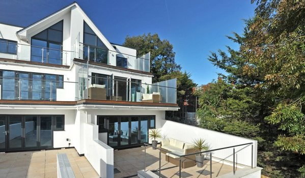 Modern house in Exmouth