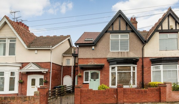 Semi-detached house in Sunderland