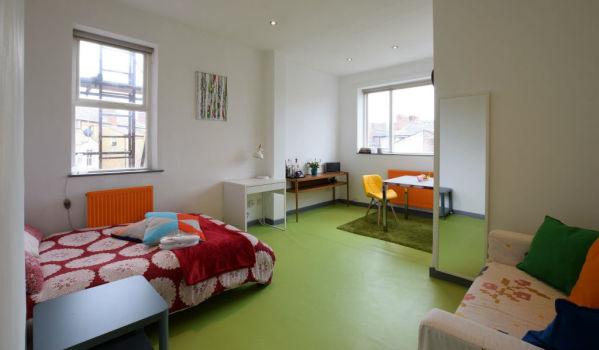 Colourful Liverpool studio