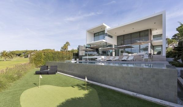 Modern villa in Vale Do Lobo, Portugal