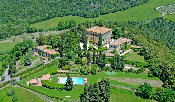 17th century Villa in Volterra, Italy