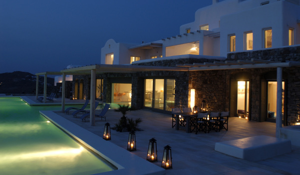 Stylish villa in Mykonos, Greece