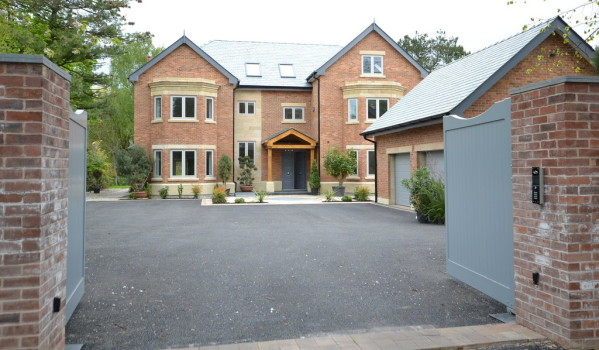 Modern mansion in Wilmslow