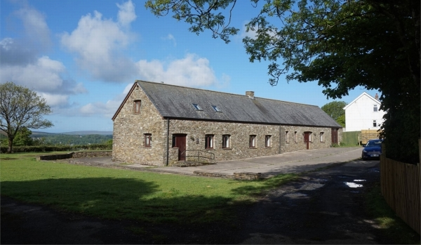 Barn conversion in Swansea