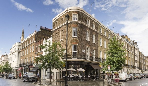 luxury flat in Belgravia