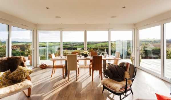 Amazing views of Devon from 3-bed bungalow
