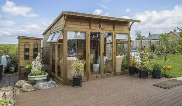 Wooden summerhouse in Ulgham