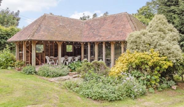Barn style summerhouse in Crowborough