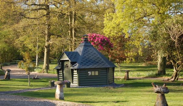 Norwegian barbecue hut in Bubbenhall