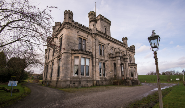 Scottish Baronial mansion in Dumbarton