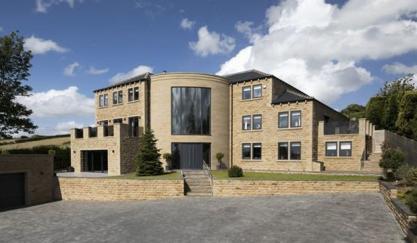 Modern mansion in West Yorkshire