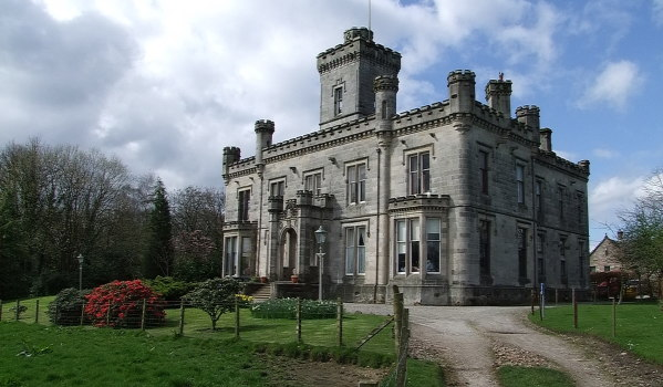 Gothic baronial mansion in Dumbarton