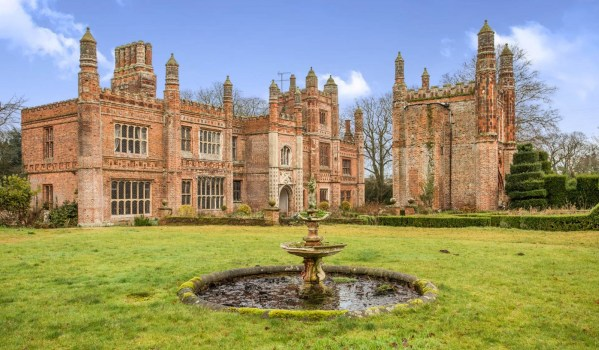East Barsham Manor House in Norfolk