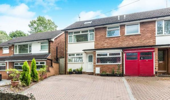 Four-bedroom semi-detached house in Moseley