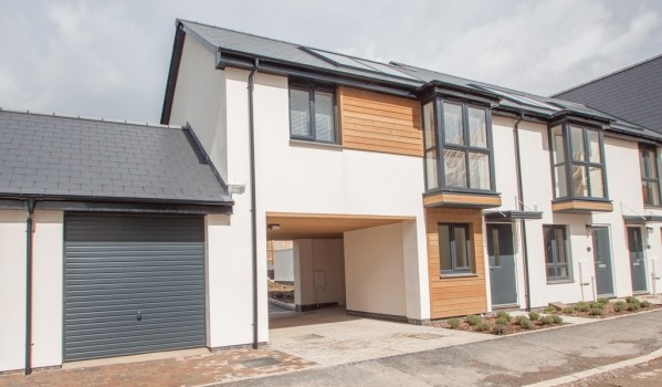 Modern new-build home in Derriford