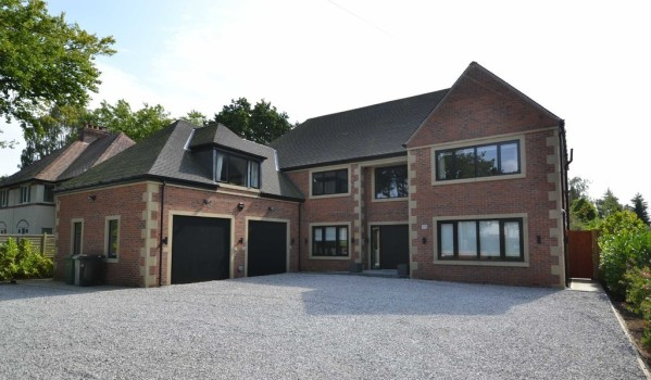 New build mansion in Wilmslow
