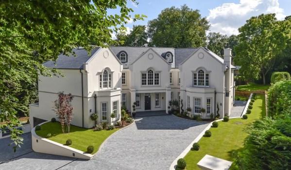 New build mansion in Oxshott