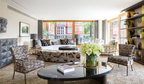Four-bedroom flat in Vicarage Gate, London, for £13.45m