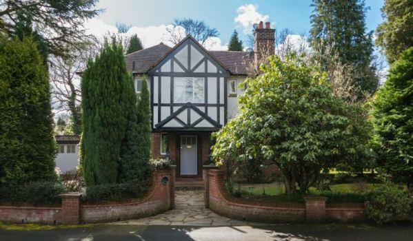 Five-bedroom detached house in Hawley Drive, Hale Barns, Altrincham for £1.2m