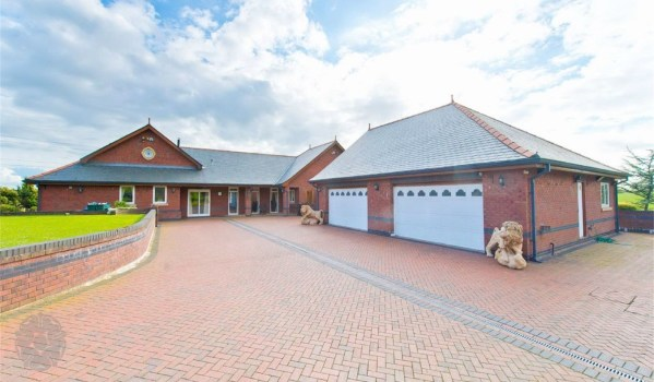 Five-bedroom detached house in Sandy Lane, Brindle, Chorley, for £1.15m