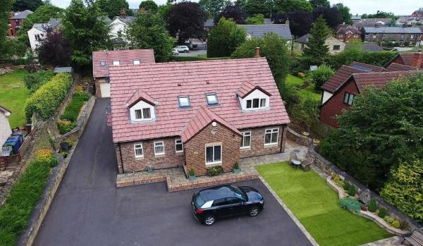 Four-bedroom detached house in Moorland Place, Silkstone Common, Barnsley, for £650,000
