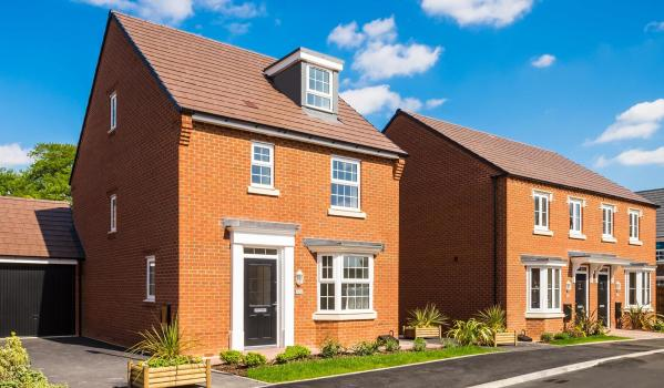 Four-bedroom detached house in Pocklington with Help to Buy