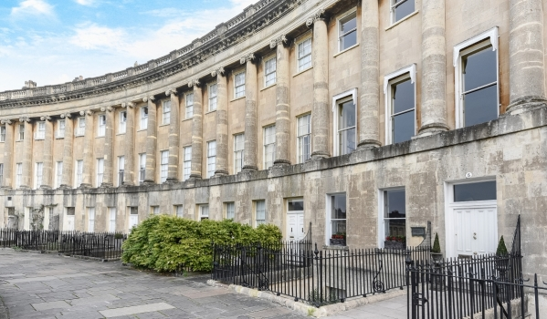 Two-bedroom flat in Bath