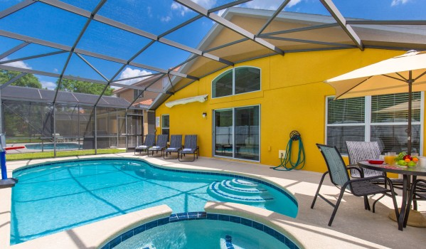 Four-bedroom villa in Kissimmee