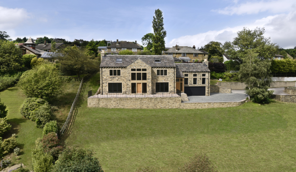 New-build five-bedroom detached house in Holmfirth